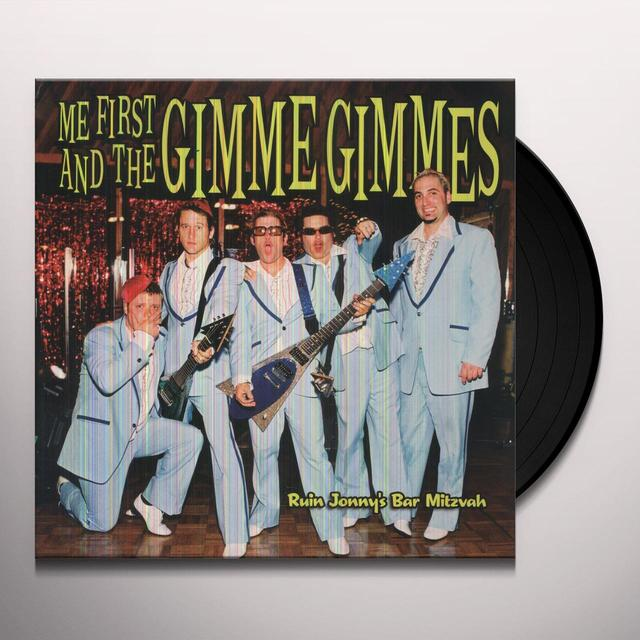 Me First and the Gimme Gimmes RUIN JONNY'S BAR MITZVAH Vinyl Record