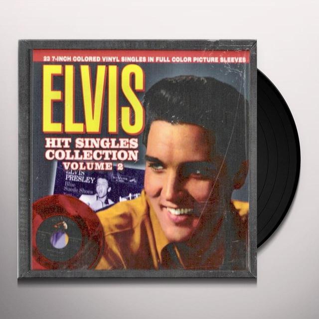 Elvis Presley HIT SINGLES COLLECTION 2 (BOX) (Vinyl)