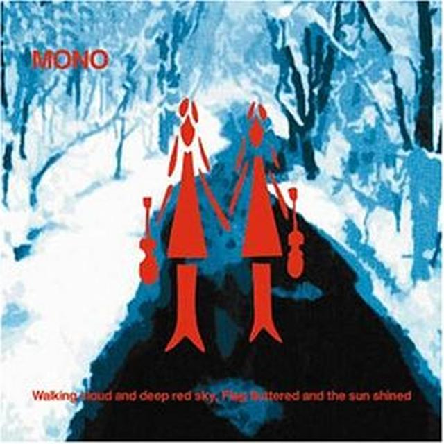 Mono WALKING CLOUD & DEEP RED SKY FLAG FLUTTERED & SUN Vinyl Record