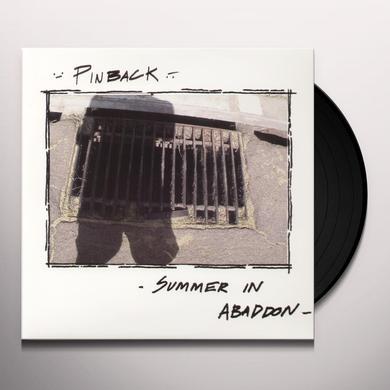 Pinback SUMMER IN ABADDON Vinyl Record