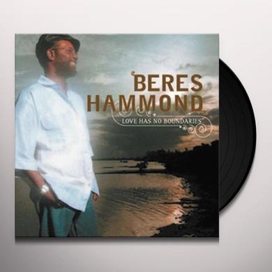 Beres Hammond LOVE HAS NO BOUNDARIES Vinyl Record