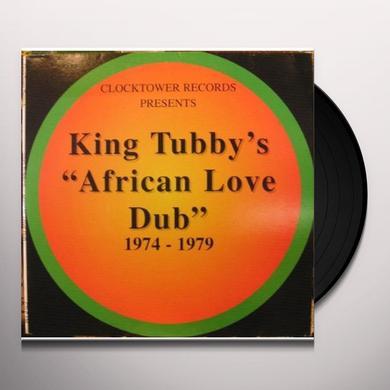 King Tubby AFRICAN LOVE DUB 1974-1979 Vinyl Record