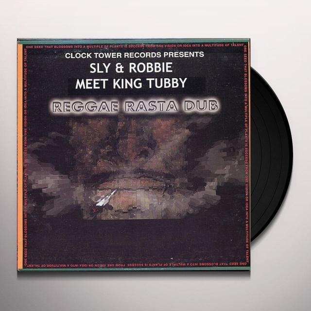King Tubby / Sly & Robbie REGGAE RASTA DUB Vinyl Record