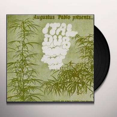 Augustus Pablo ITAL DUB Vinyl Record