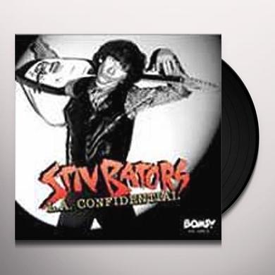 Stiv Bators L.A. CONFIDENTIAL Vinyl Record