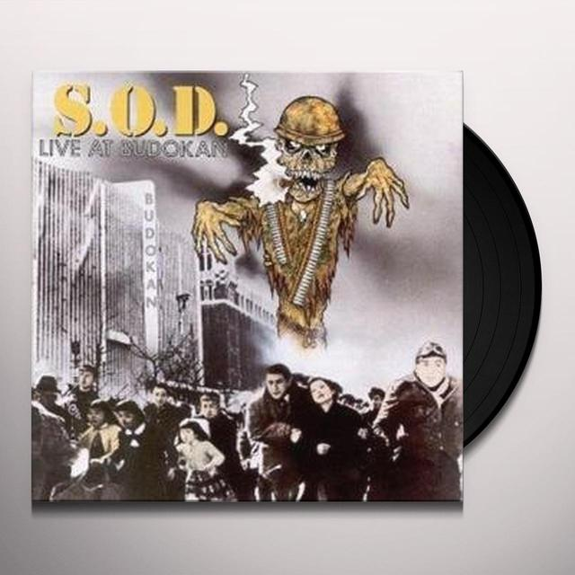 S.O.D. LIVE AT BUDOKAN Vinyl Record - UK Import
