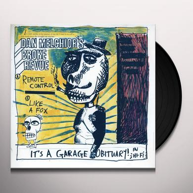 Dan / Broke Revue Melchior GARAGE OBITUARY (Vinyl)