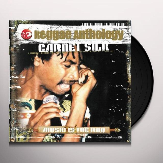 Garnett Silk REGGAE ANTHOLOGY: MUSIC IS THE ROD Vinyl Record