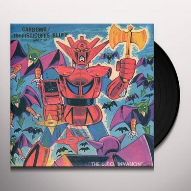 Carbomb & Fisticuffs Bluff SPLIT (Vinyl)