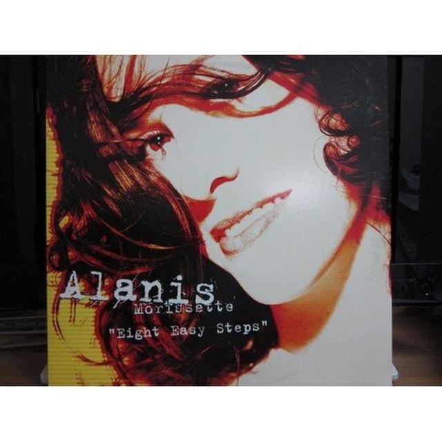 Alanis Morissette EIGHT EASY STEPS (X4) Vinyl Record