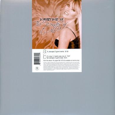 Kristine W WONDER OF IT ALL Vinyl Record