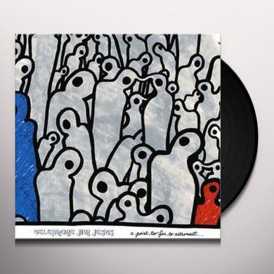Telephone Jim Jesus POINT TOO FAR TO ASTRONAUT Vinyl Record