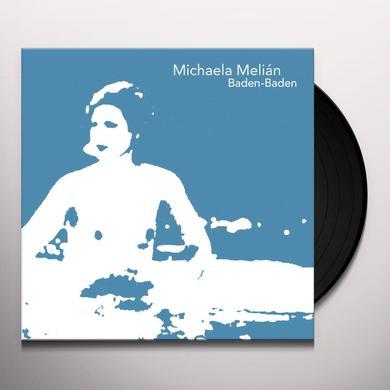 Michaela Melián BADEN BADEN Vinyl Record