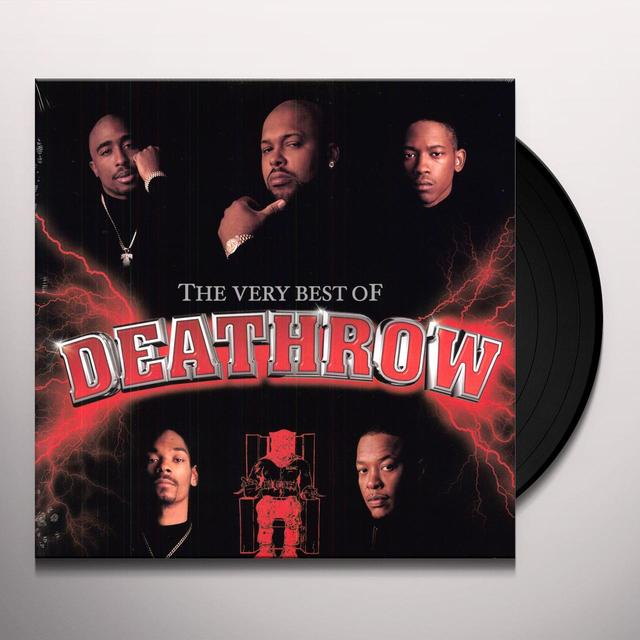 VERY BEST OF DEATH ROW / VARIOUS Vinyl Record