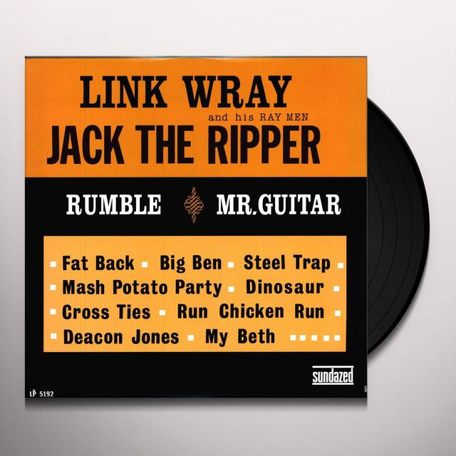 Link Wray JACK THE RIPPER Vinyl Record