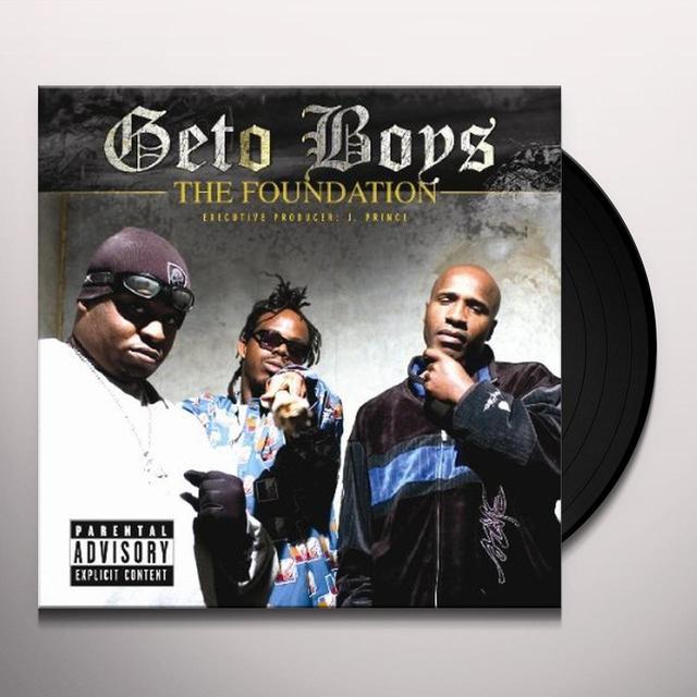 Geto Boys FOUNDATION Vinyl Record