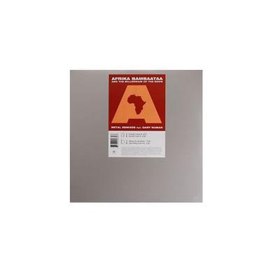Afrika Bambaataa METAL (REMIXES) Vinyl Record