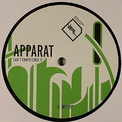 Apparat CANT COMPUTERIZE IT Vinyl Record