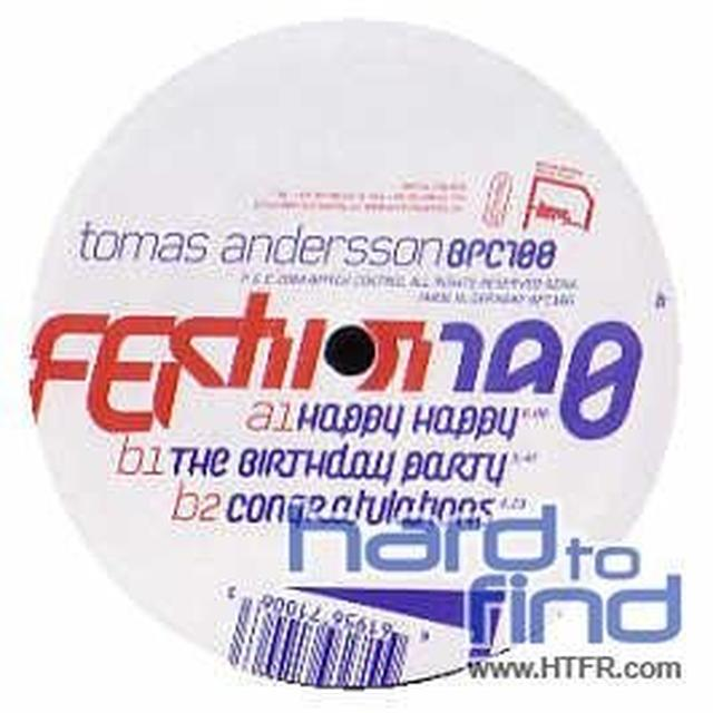 Tomas Andersson FESTIVITIES Vinyl Record