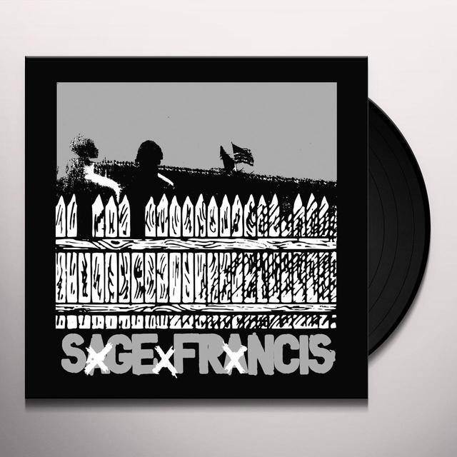 Sage Francis HEALTHY DISTRUST Vinyl Record