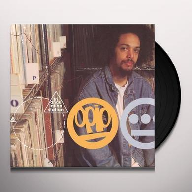 Opio TRIANGULATION STATION Vinyl Record
