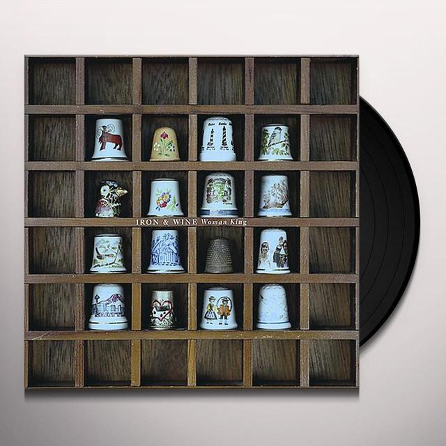 Iron & Wine WOMAN KING Vinyl Record