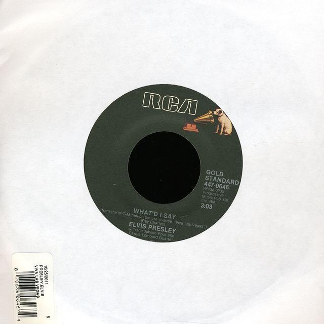 Elvis Presley VIVA LAS VEGAS Vinyl Record