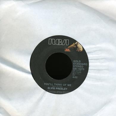 Elvis Presley SUSPICIOUS MINDS Vinyl Record