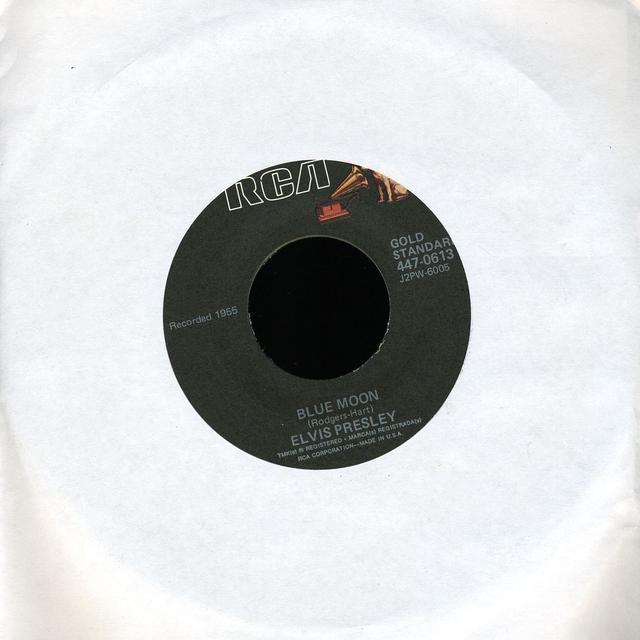 Elvis Presley BLUE MOON Vinyl Record