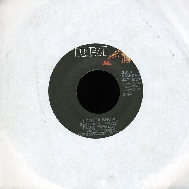 Elvis Presley ARE YOU LONESOME TONIGHT Vinyl Record