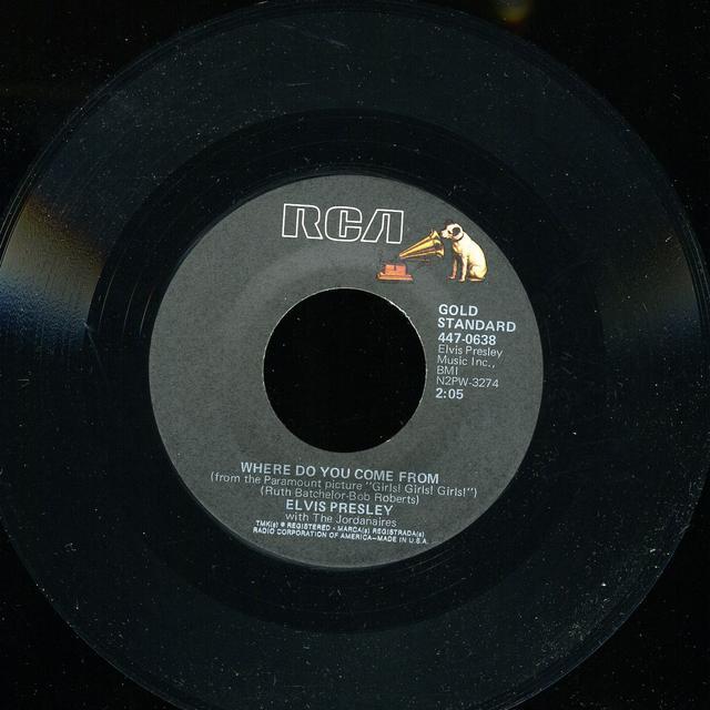 Elvis Presley RETURN TO SENDER Vinyl Record