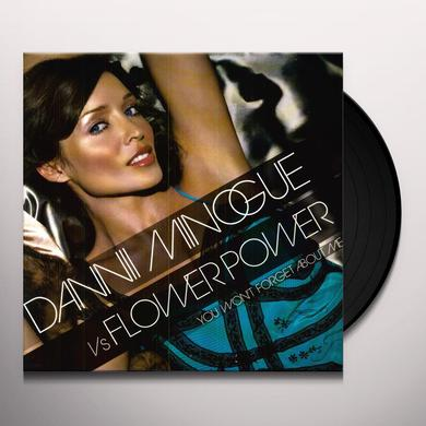 Dannii Vs Flower Power Minogue YOU WON'T FORGET ABOUT ME Vinyl Record