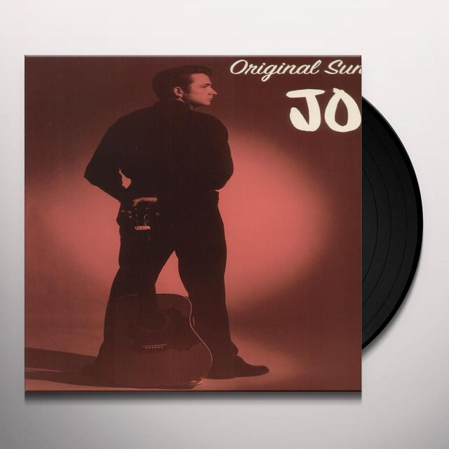 Johnny Cash ORIGINAL SUN SINGLES 55-58 Vinyl Record