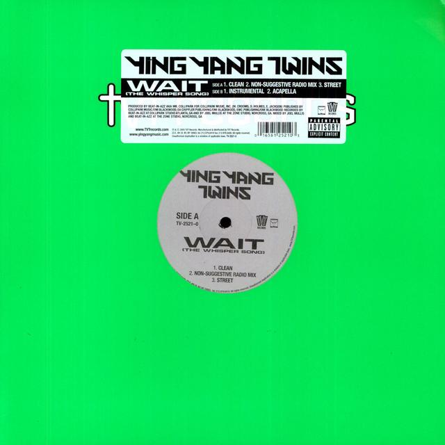 Ying Yang Twins WAIT Vinyl Record