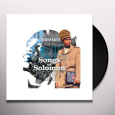 Turbulence SONGS OF SOLOMON Vinyl Record