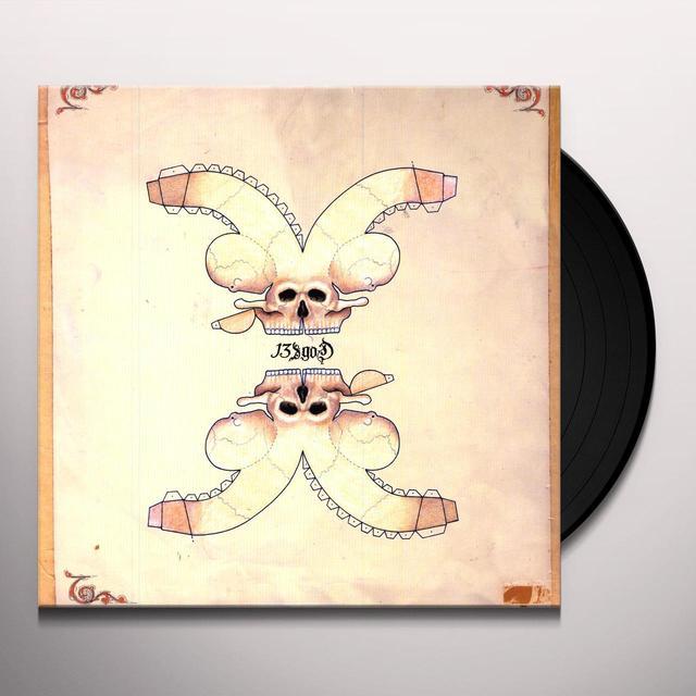 13 & God MEN OF STATION Vinyl Record