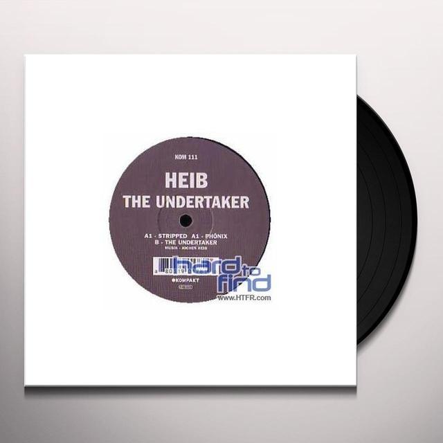 Heib UNDERTAKER (EP) Vinyl Record