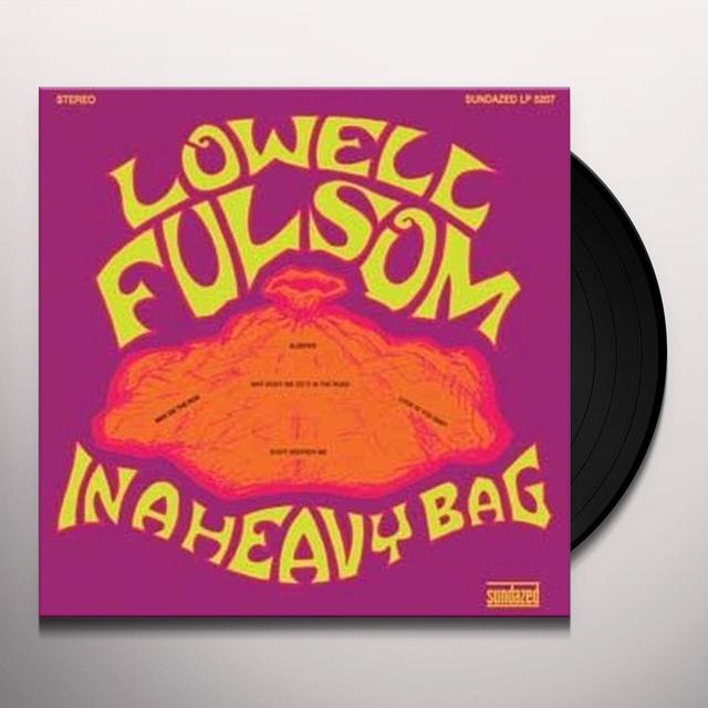 Lowell Fulsom IN A HEAVY BAG (BONUS TRACKS) Vinyl Record