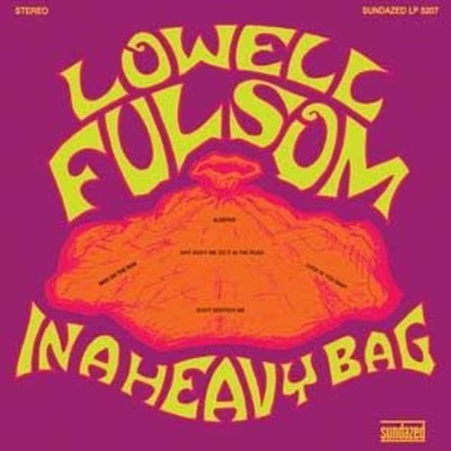Lowell Fulsom IN A HEAVY BAG (BONUS TRACKS) Vinyl Record