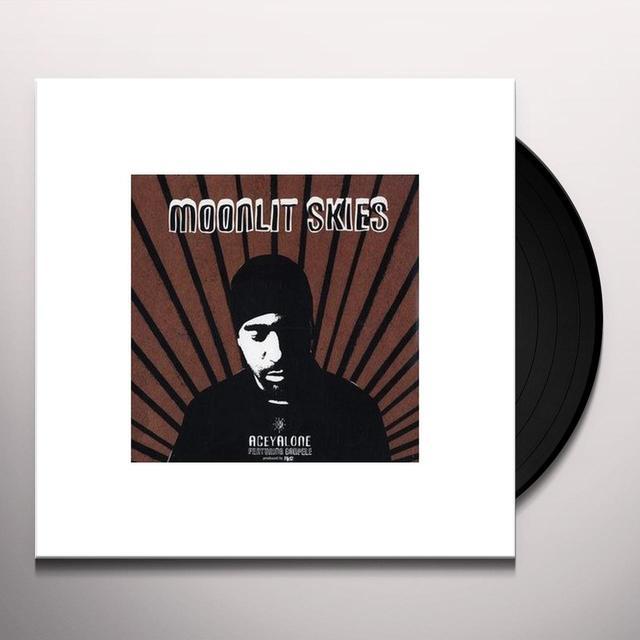 Aceyalone MOONLIT SKIES / ACE COWBOY Vinyl Record