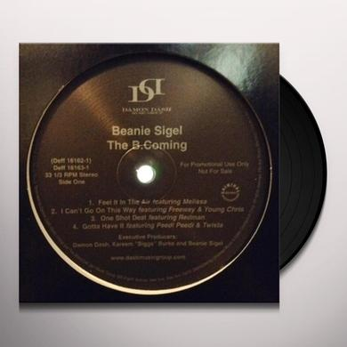 Beanie Sigel B COMING Vinyl Record