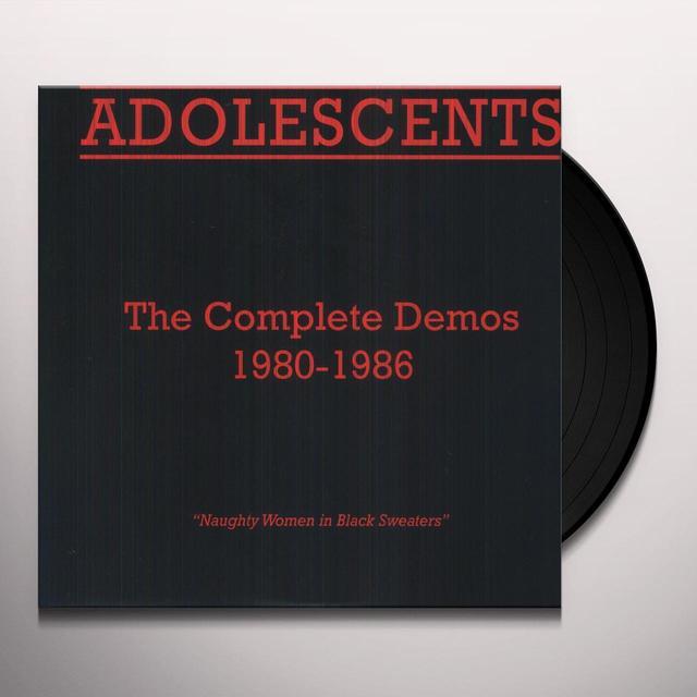 Adolescents COMPLETE DEMOS 1980-1986 Vinyl Record