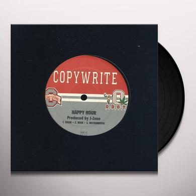 Copywrite HAPPY HOUR / BEAUTIFUL TRAINWRECK Vinyl Record