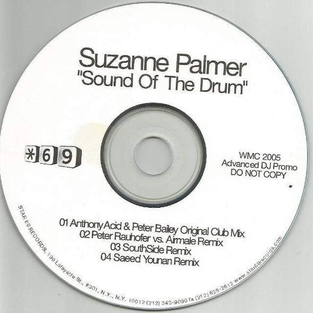 Suzanne Palmer SOUND OF THE DRUM Vinyl Record