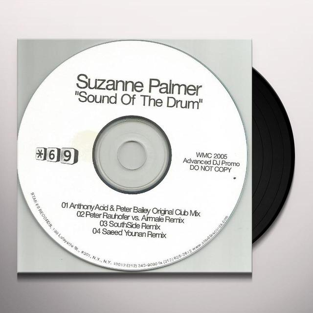 Suzanne Palmer SOUND OF THE DRUM Vinyl Record