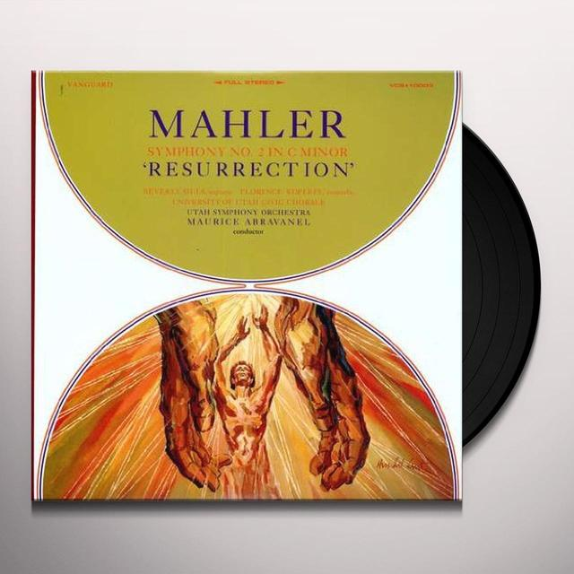 Maurice Abravanel MAHLER: SYMPHONY 2 Vinyl Record