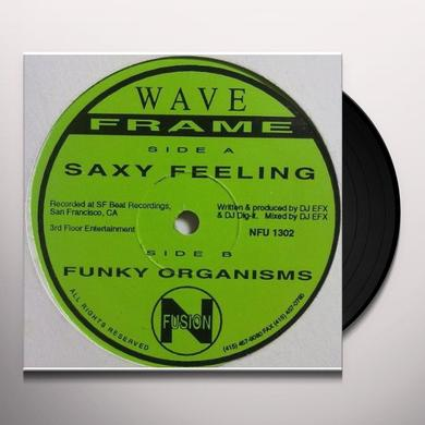 Wave Frame SAXY FEELING & FUNKY ORGANISMS Vinyl Record