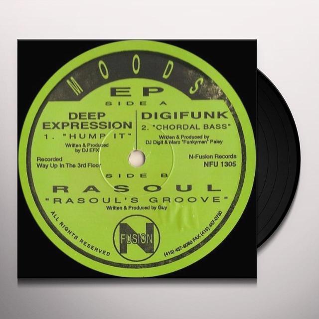 Deep Expression Digifunk Rasoul MOODS Vinyl Record