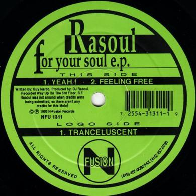 RASOUL: FOR YOUR SOUL Vinyl Record