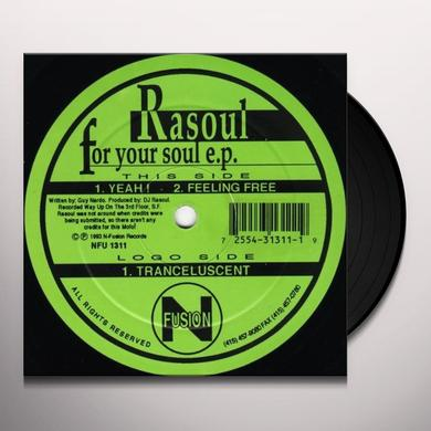 RASOUL: FOR YOUR SOUL (EP) Vinyl Record